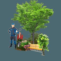 Строительство и благоустройство территории в Домодедово