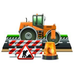 Строительство дорожного полотна в Видном