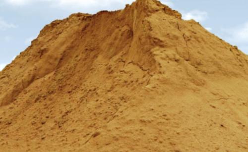 Фото намывного песка