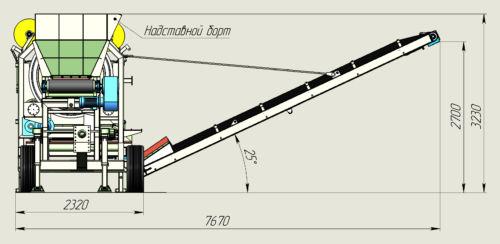 Барабанный грохот DunAlex 14.35