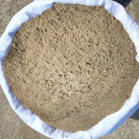 Песок речной в мешках